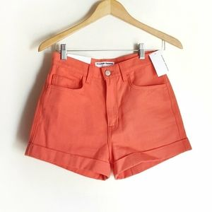 American Apparel high waisted watermelon shorts